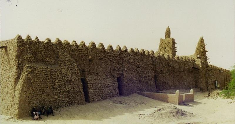 De beroemde moskee van Tombouctou